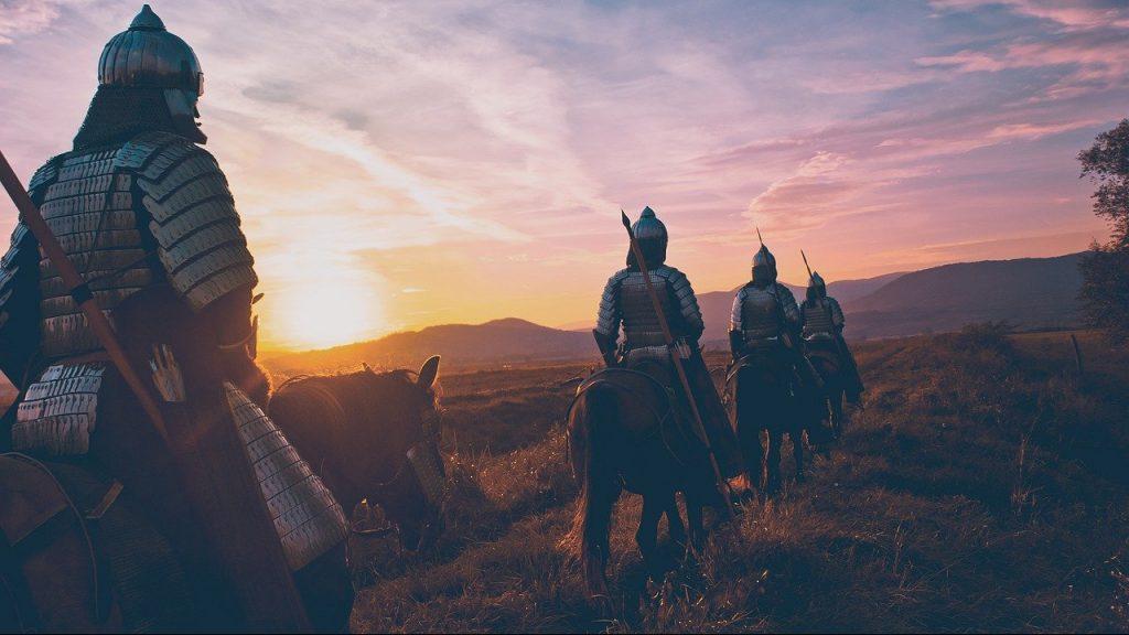 horse, soldier, warrior